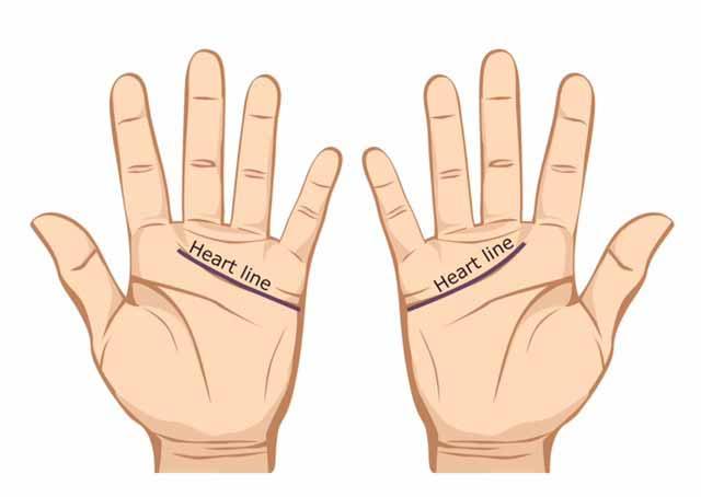 Garis tangan hati - cara membaca garis tangan
