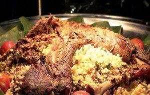 Resep masakan nasi kebuli kambing