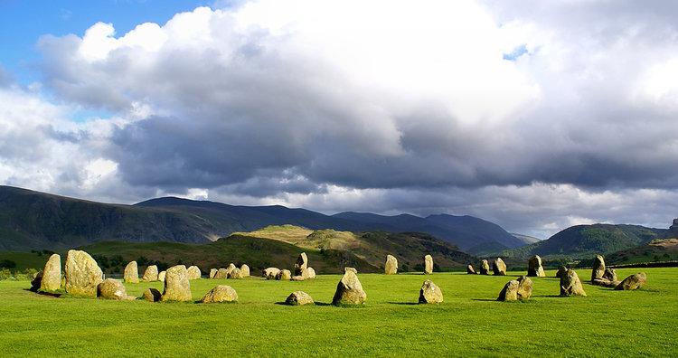 Castlerigg Stone Circle - tempat misterius di dunia