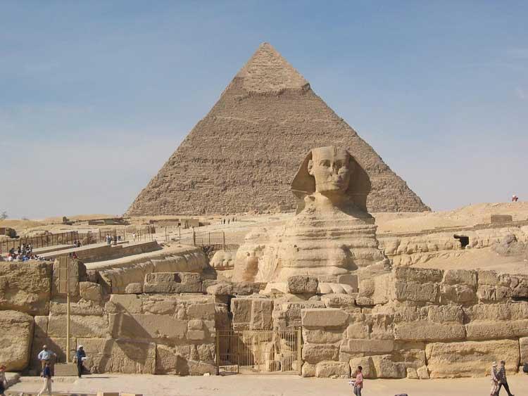 Tempat misterius di dunia - piramida cheops