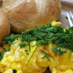 cara membuat scrambled egg ala mcd