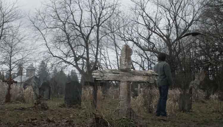 Pemakaman Stull kuburan terseram