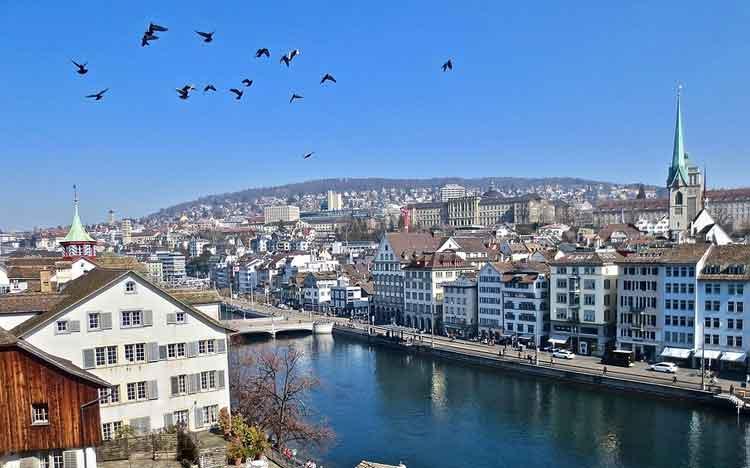 zurich - swiss kota terbersih di dunia