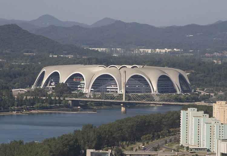 Rungrado May Day Stadium - stadion terbesar di dunia