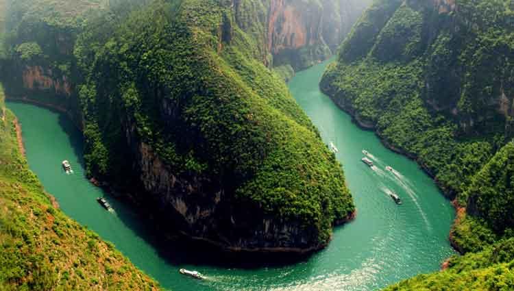 sungai terpanjang di dunia ketiga yangtze