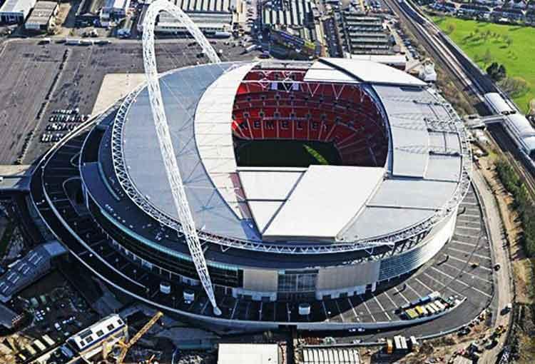 Wembley stadion terbesar di dunia