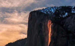 ilusi optik alam air terjun api