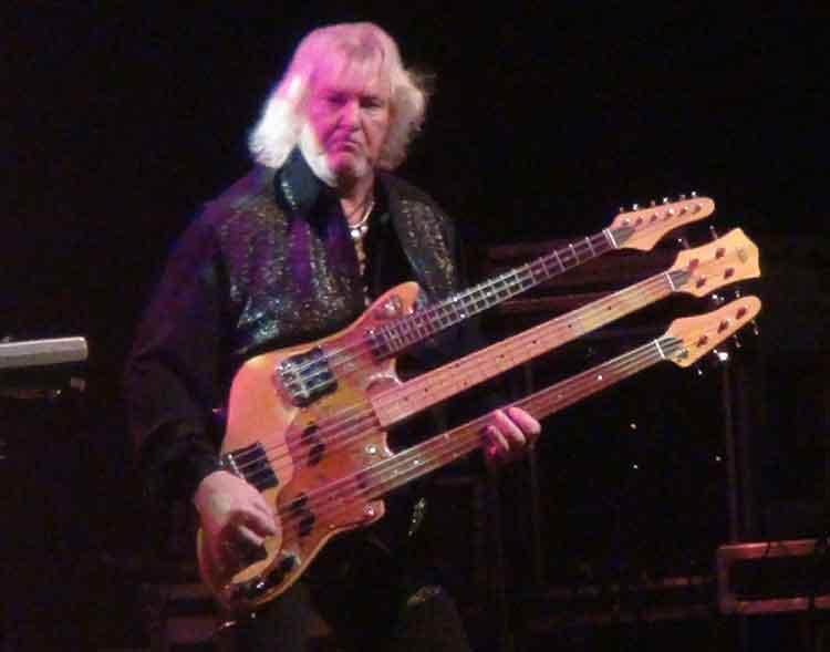 Chris Squire bassist terbaik dunia
