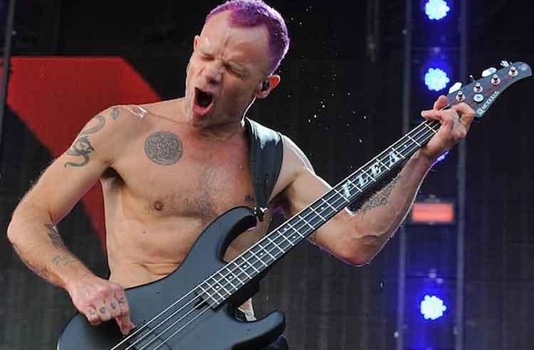 Flea Bassist Terbaik Dunia