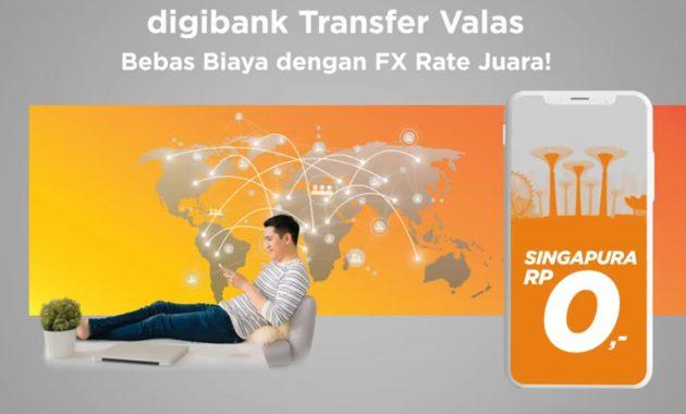 Digibank Transfer Valas